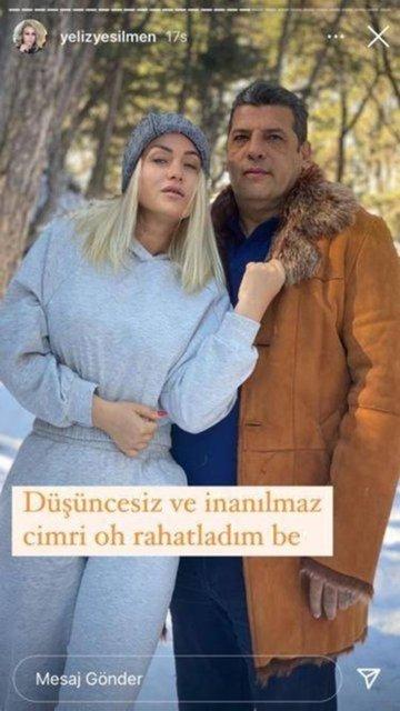 Yeliz Yeşilmen'den eşi Ali Uğur Akbaş'a: Şunun kulağını çekin!