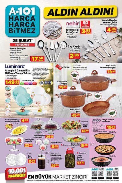 A101 BİM aktüel ürünler kataloğu! 23-25 Şubat A101 BİM aktüel ürünler kataloğu! Tam liste burada