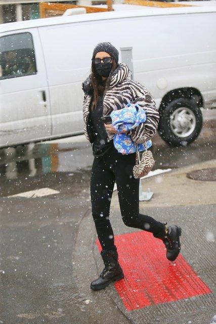 Irina Shayk'ın sokak stili - Magazin haberleri