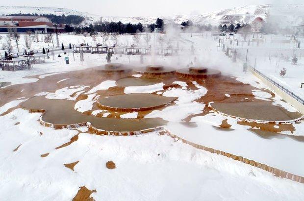 Sıcak-soğuk karşılaşması! 50 metre sonra buz tutuyor