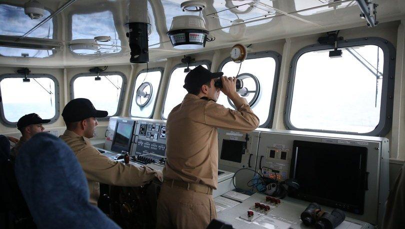Ege'de gergin anlar! SON DAKİKA: Yunan uçakları, Türk gemisini taciz etti
