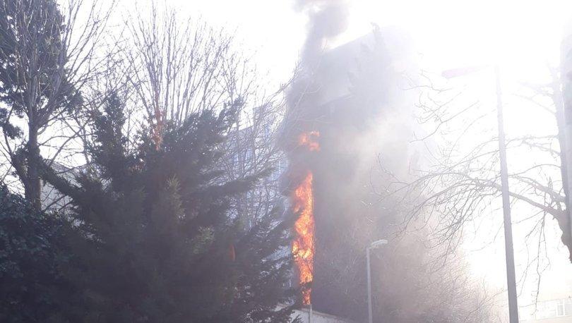 Son dakika: Şişli'de korkutan yangın! - Haberler