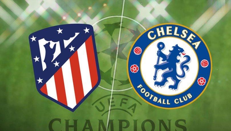 Atletico Madrid Chelsea maçı hangi kanalda canlı yayınlanacak? Atletico Chelsea maçı ne zaman, saat kaçta?