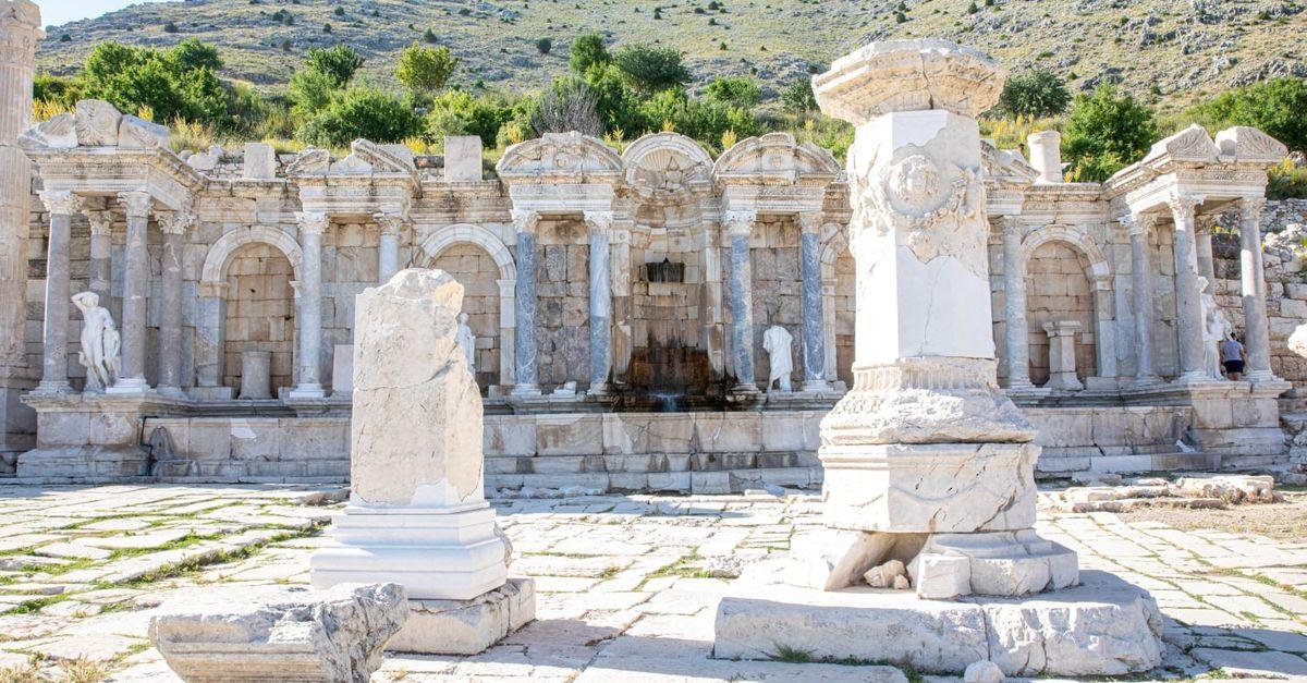 Kültürel ve doğal miraslarımız XXXVII (Sagalassos Antik Kenti)