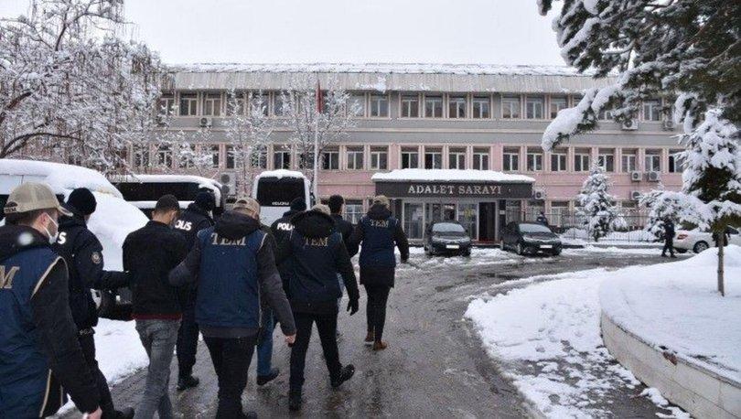 Muş merkezli terör operasyonunda gözaltına alınan 23 kişiden 6'sı tutuklandı
