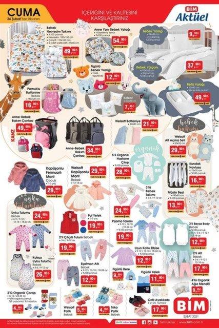 26 Şubat 2021 BİM aktüel ürünler: Bu hafta BİM aktüel ürünler kataloğunda indirimli ürünler neler?