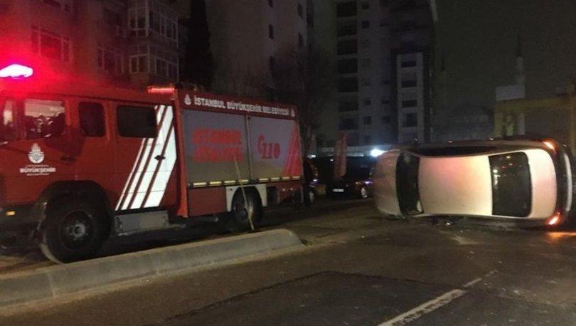 Kadıköy'de kısıtlamayı ihlal eden otomobil kaza yaptı: 2 yaralı