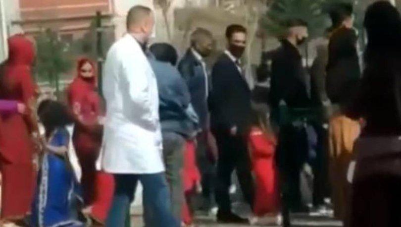 BASILDILAR| Son dakika: Suriyeli çfitin korona düğünü yarıda kaldı