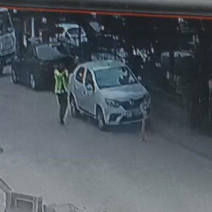 Trafik polisi hırsızlara ateş açtı!