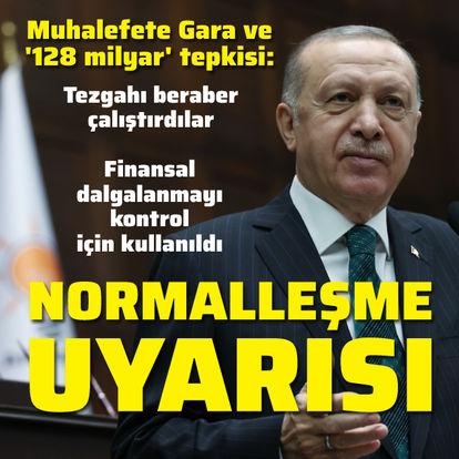 Cumhurbaşkanı Erdoğan: CHP heyula haline dönüşmüş amorf bir yapıdır
