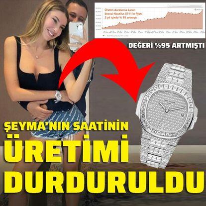 Şeyma'nın saatinin üretimi durduruldu