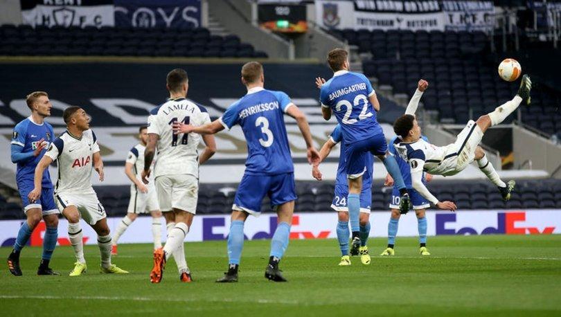 Tottenham: 4 - Wolfsberger: 0 MAÇ SONUCU