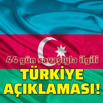 """""""44 günlük savaşta Türkiye güç kaynağımız oldu!"""""""