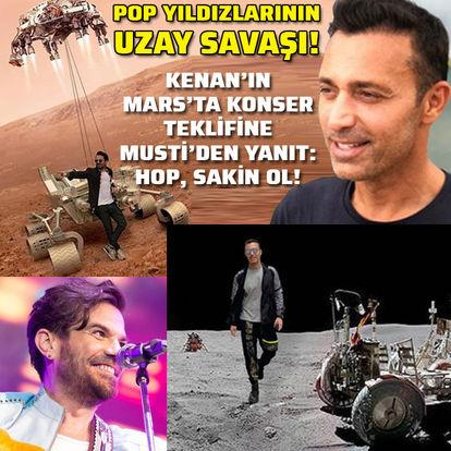 Pop yıldızlarının 'Uzay' savaşı
