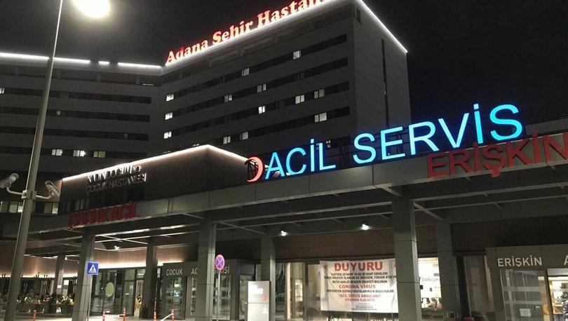 Adana'da pompalı tüfekle vurulan bekçi yaralandı