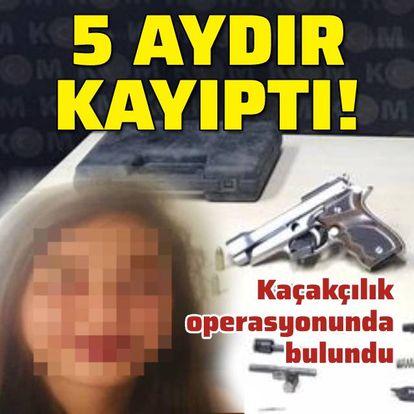 Kayıp kız, kaçakçılık operasyonunda bulundu