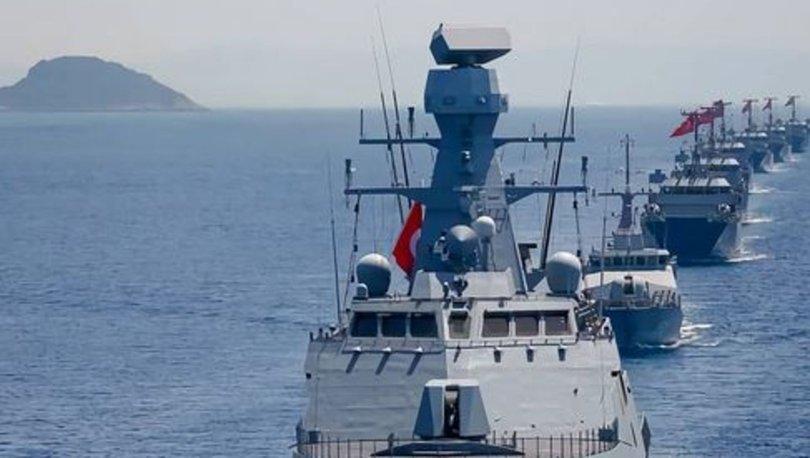 DONANMA SEFERE! Son dakika: 87 gemi Akdeniz'e iniyor! Mavi Vatan - 2021 tatbikatı:
