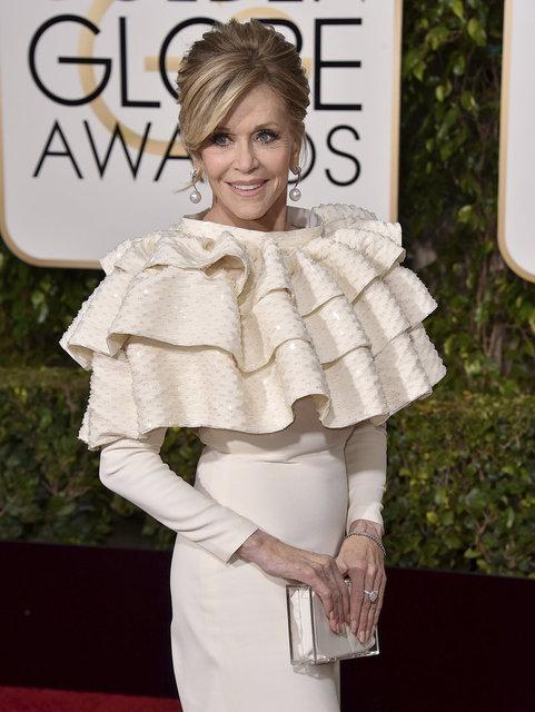 Jane Fonda: Saç boyamaktan bıktım! - Magazin haberleri