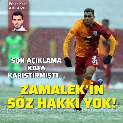 Zamalek'in söz hakkı yok!