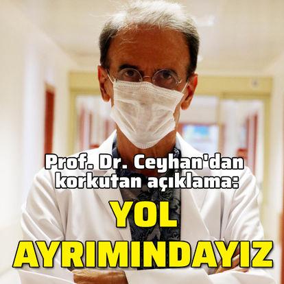 Prof. Ceyhan'dan korkutan açıklama: Yol ayrımındayız