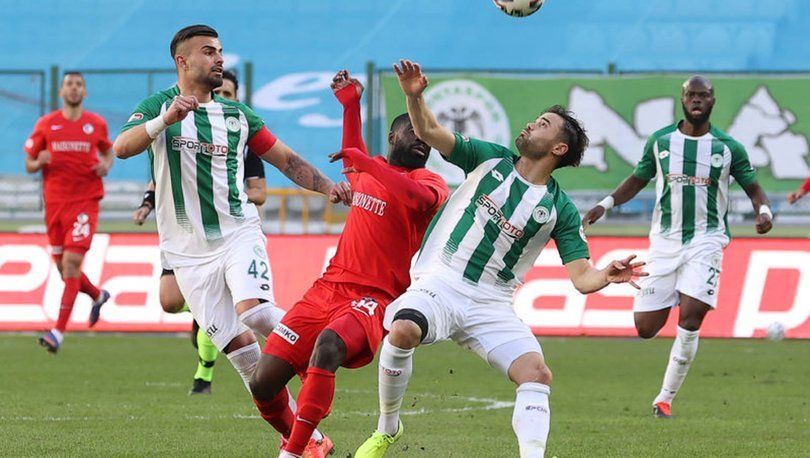 Konyaspor: 0 - Gaziantep FK: 0 | MAÇ SONUCU