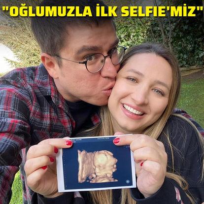 """""""Oğlumuzla ilk selfie'miz"""""""
