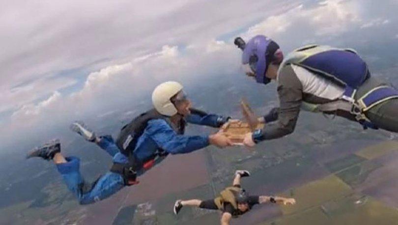 4 bin 267 metre yükseklikte pizza keyfi