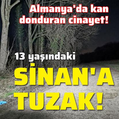 KAN DONDURAN DETAYLAR! Almanya'da öldürülen 13 yaşındaki Sinan Toptik tuzağa düşmüş! - SON DAKİKA HABERLER