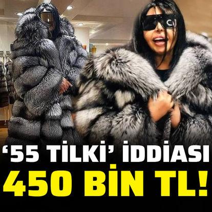 450 bin TL'ye kürk satın aldı
