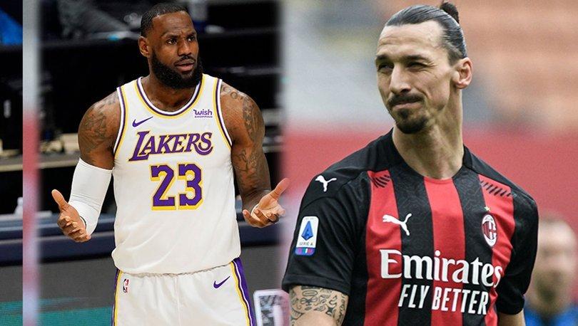 LeBron James ile Zlatan Ibrahimovic arasında polemik