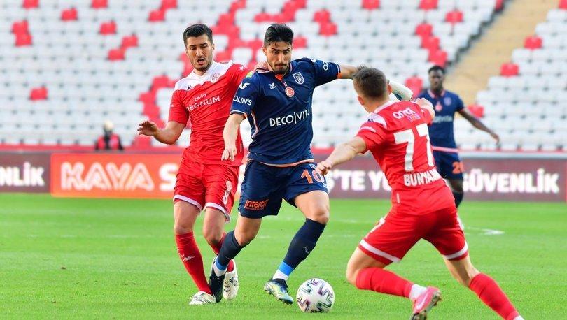 Antalyaspor: 0 - Başakşehir: 0 | MAÇ SONUCU