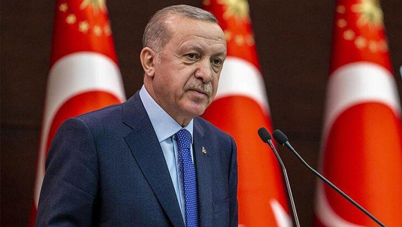 Cumhurbaşkanı Erdoğan, merhum başbakanlardan Erbakan'ı telgraf mesajıyla andı