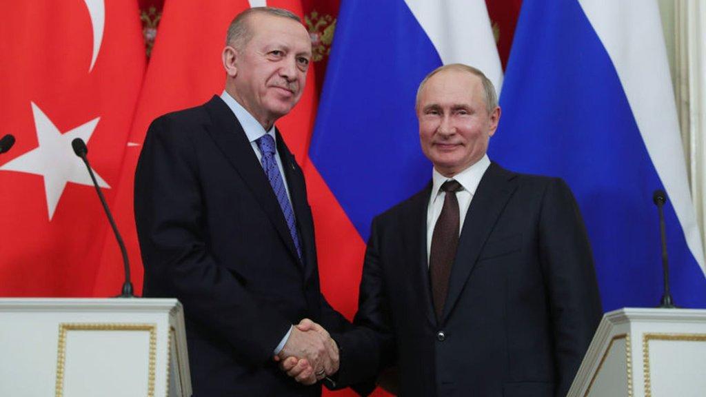 Cumhurbaşkanı Erdoğan ile Putin temelini atacak