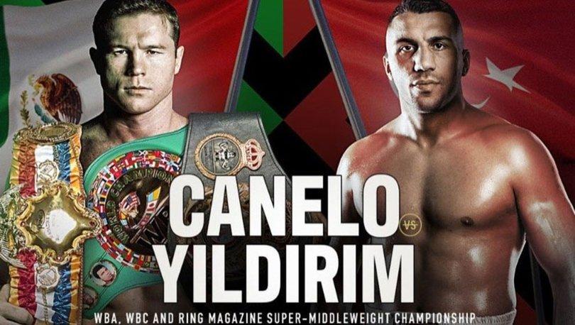 Avni Yıldırım maçı saat kaçta, hangi kanalda CANLI yayınlanacak? - Avni Yıldırım Canelo Alvarez boks maçı ne z