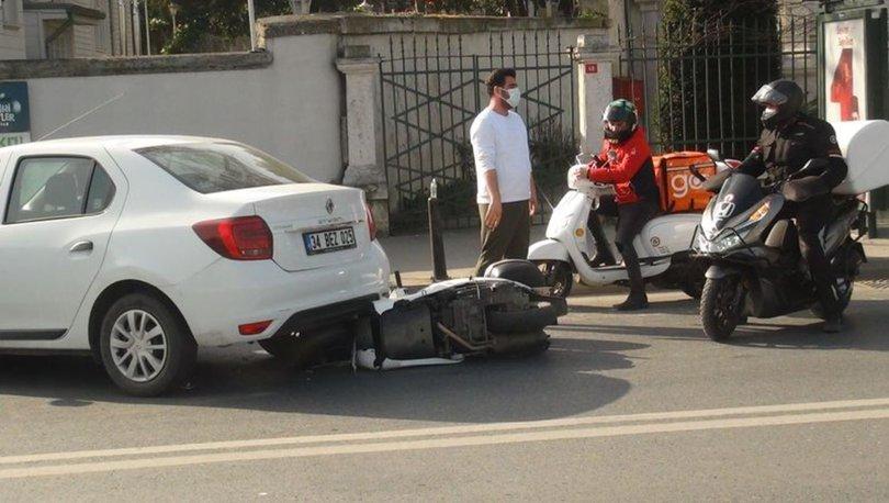 FECİ KAZA! Son dakika: Sarıyer'de feci kaza: Motosikletli otomobilin altına girdi - Haber