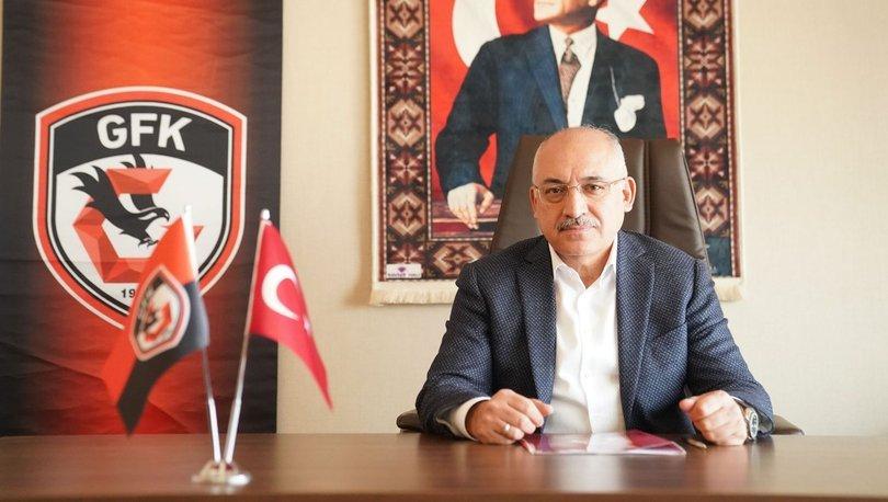 Gaziantep Başkanı Büyükekşi'den hakem tepkisi