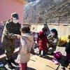 TSK'dan Şemdinli'deki çocuklara destek