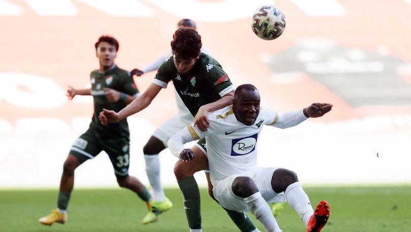 Bursaspor: 3 - Akhisarspor: 2 | MAÇ SONUCU