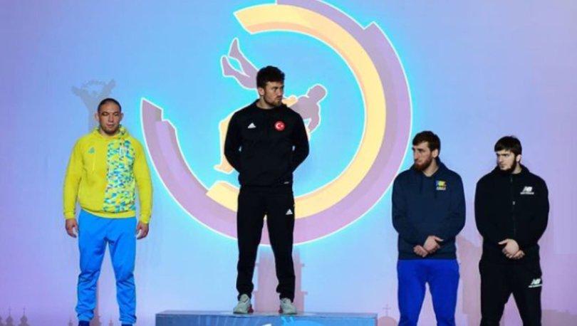 Milli güreşçiler, Ukrayna'dan 4 madalyayla dönüyor