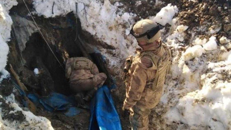 Eren-7 Operasyonu'nda 3 sığınak imha edildi - Haberler