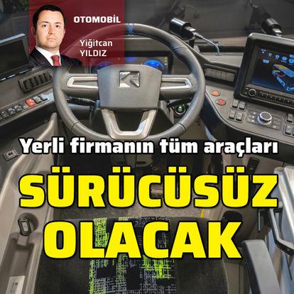 Karsan'ın tüm araçları 'otonom' olacak - haberler