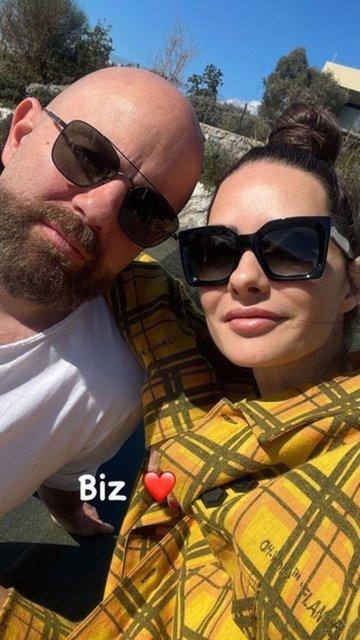 Yasemin Özilhan ile İzzet Özilhan'ın doğa kaçamağı - Magazin haberleri