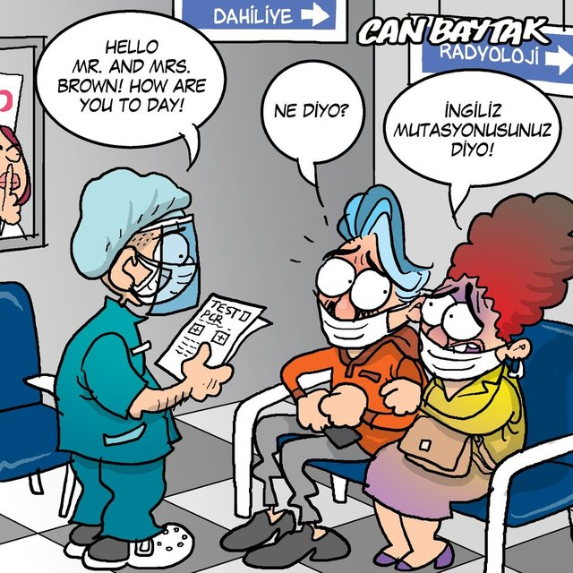 Can Baytak karikatürleri (Mart 2021)
