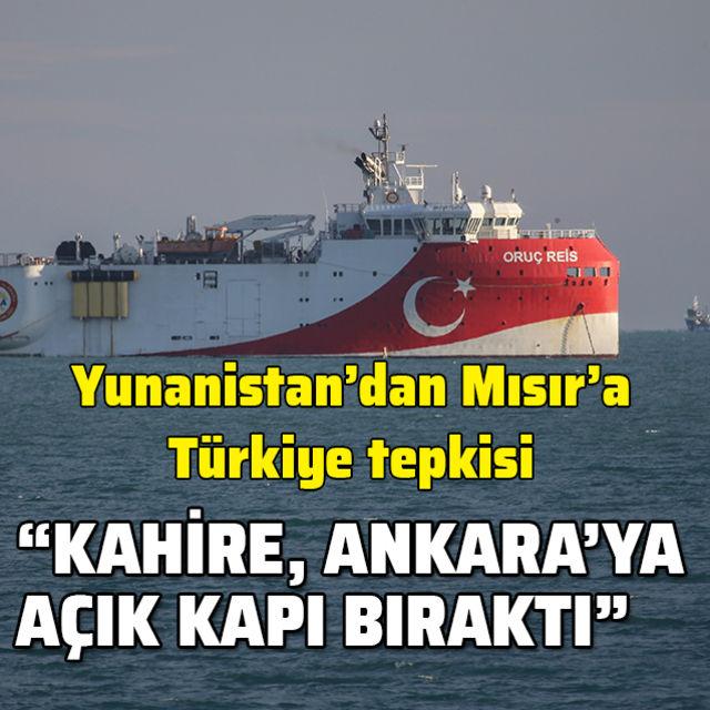 Yunan basınından Mısıra Türkiye tepkisi