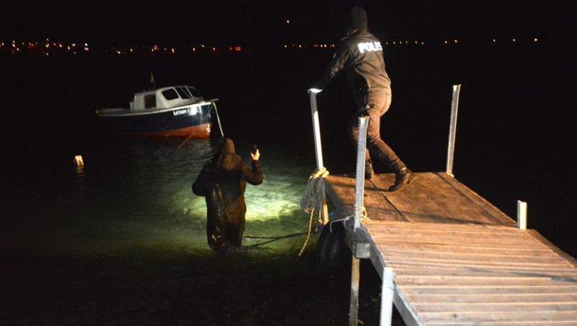 Denize atlayan alkollü kadını Sahil Güvenlik ekipleri kurtardı