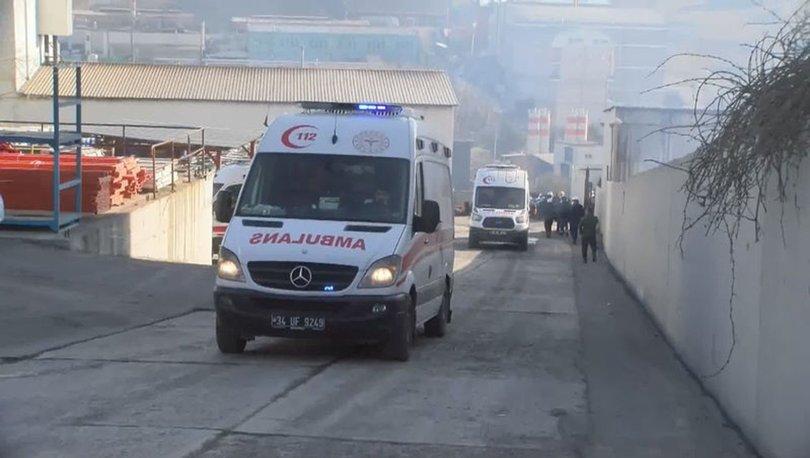 PATLAMA! Son dakika: Arnavutköy'de bir fabrikada patlama! 3 işçi yaralandı