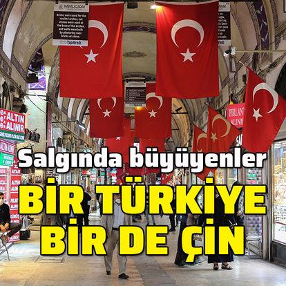 Sadece Çin ve Türkiye büyüdü