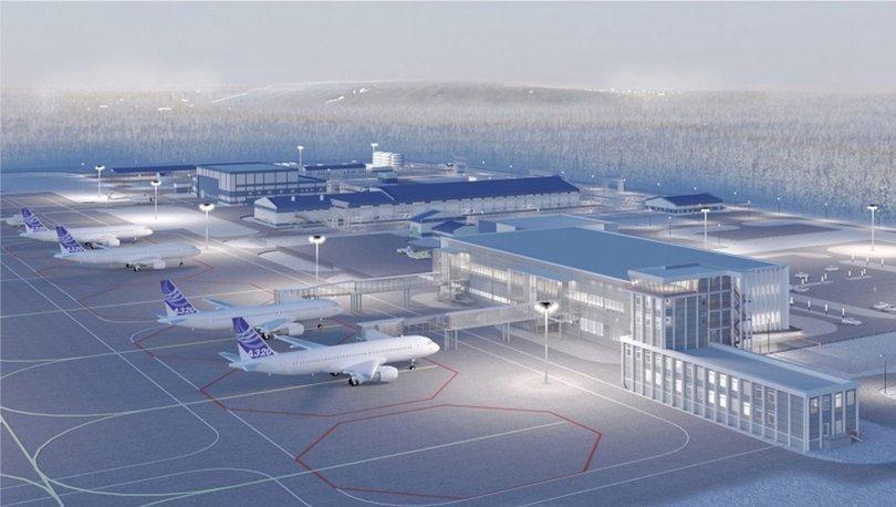 Mirny uçak terminalini Ant Yapı inşa edecek