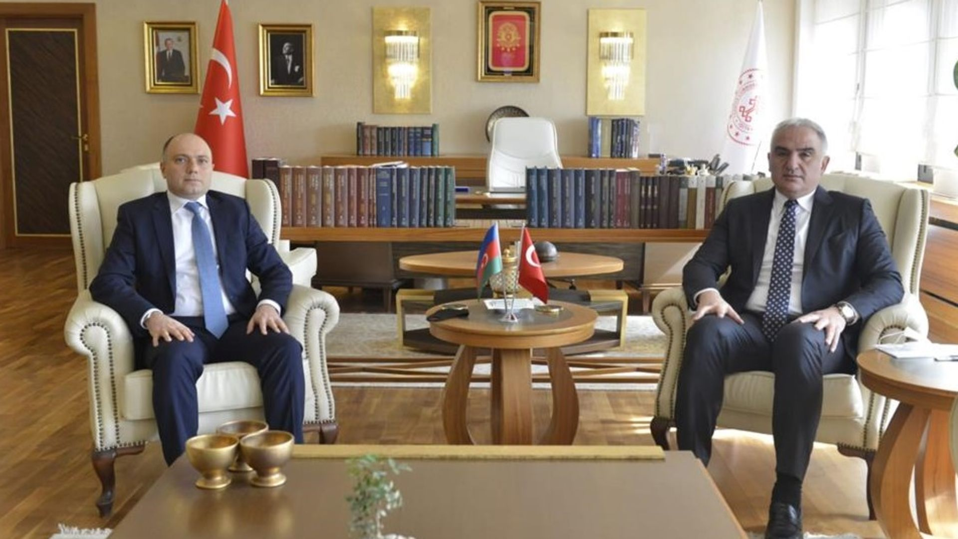 Türkiye ve Azerbaycan arasında Birinci Kültür Karma Komisyon Toplantısı yapıldı