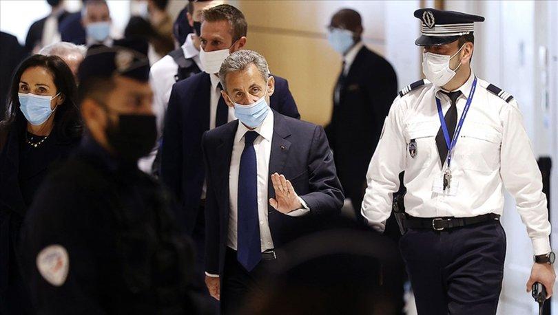 Fransa'da Sarkozy'e hapis cezası!